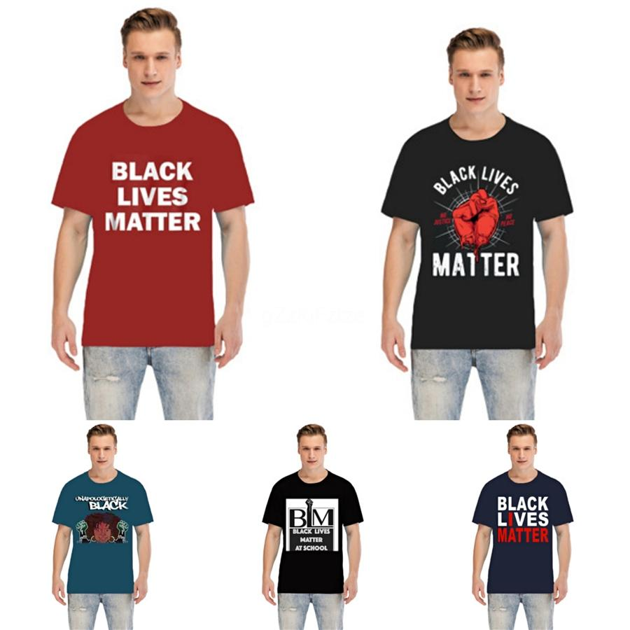 Black Lives Matter!Fashion Luxury Designer Men T Shirts For Mens Tshirt With Letters Summer Short Sleeve Mens Tee Shirts Medusa T Shirt Cloth