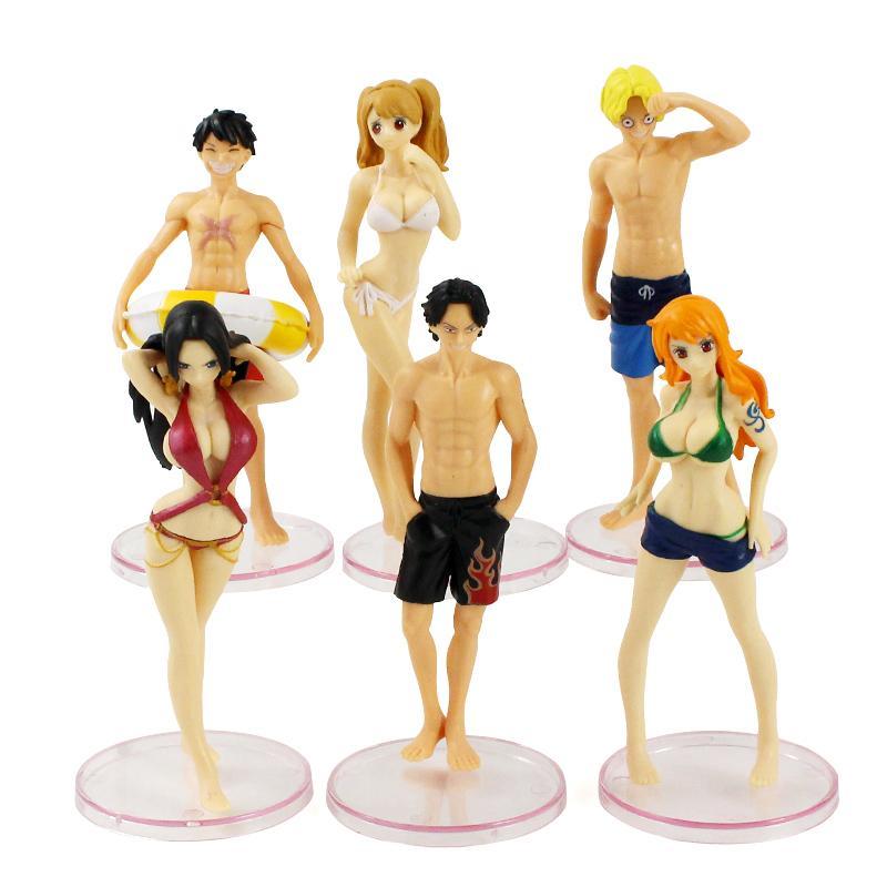 Луффи нами Боа Хэнкок сексуальный купальник One Piece аниме ПВХ фигурки Эйс Сабо Шарлотта пудинг коллекционные куклы