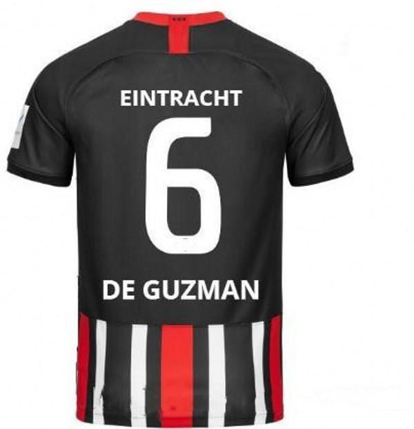 2019 2020 Eintracht Frankfurt kids kits jerseys FERNANDES JOVIC HALLER KOSTIC MULLER soccer shirts home fans tops short football uniform