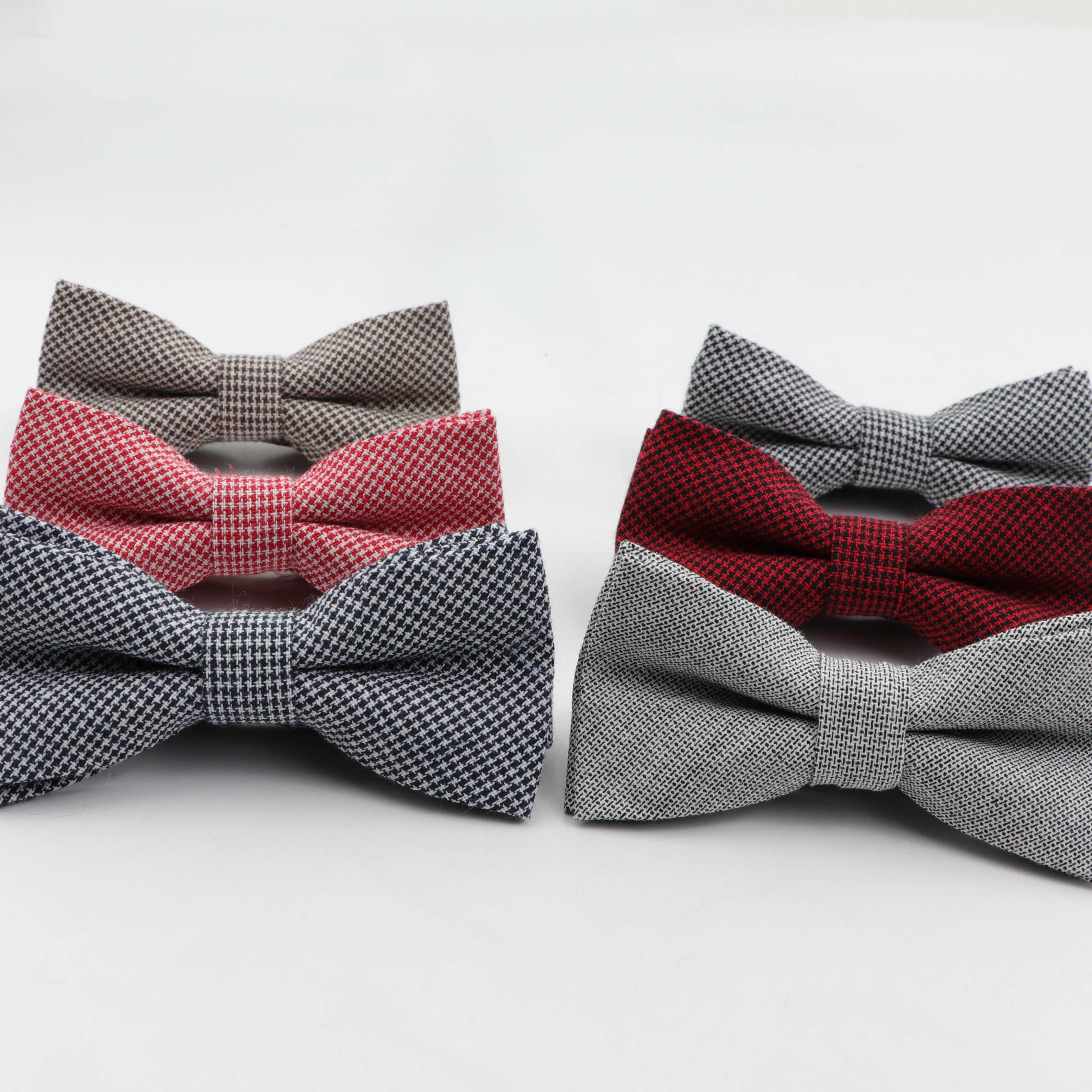 Crianças Listrado Cor Bowtie Bow Cotton Formal Tie Kid Bowties sólidos classical colorido da borboleta de casamento Partido Gravatas