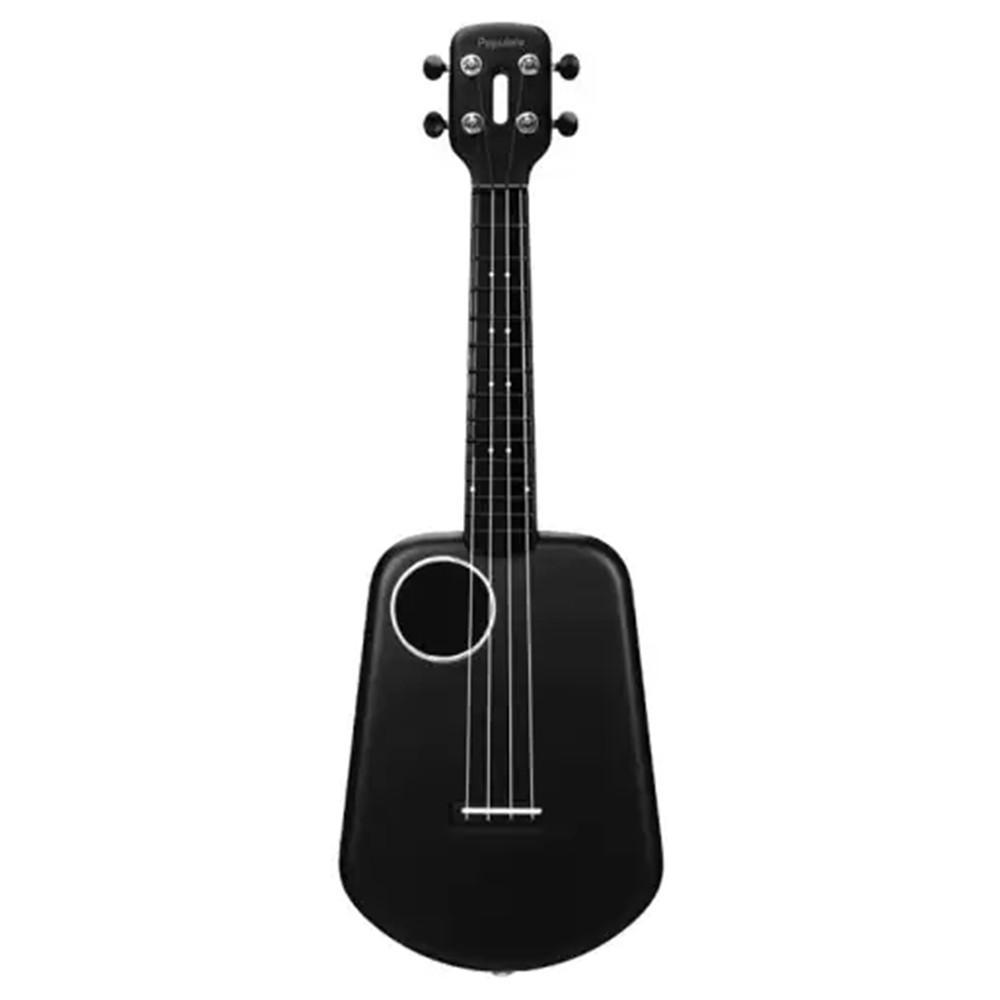 2 LED d'origine Populele Control App Smart USB Ukulele 4 cordes 23 pouces Ukulele Concert ABS acoustique guitare électrique Fingerboard