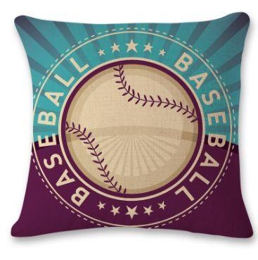 Baseball Pillow Covers Sports Decorative Pillow Cover Sofa Car Seat Throw Pillow Case Home Decor Baseball Softball CYW2877