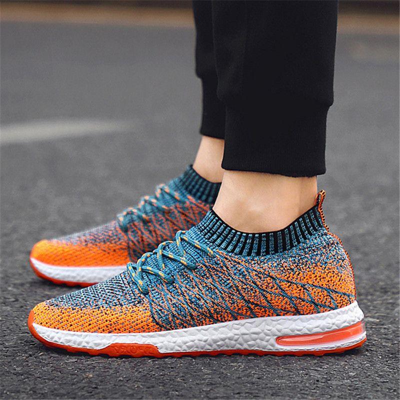 Summer Fashion Sneakers traspirante Moda Slip On scarpe da ginnastica per uomo economici degli uomini dei fannulloni scarpe senza lacci 2020 Nuove