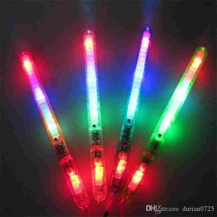 2020 LED-Blitz leuchten Stab-Glühen-Stockkindspielwaren für Ferien Konzert Weihnachtsfest Weihnachtsgeschenk Geburtstag Epacket freies Verschiffen