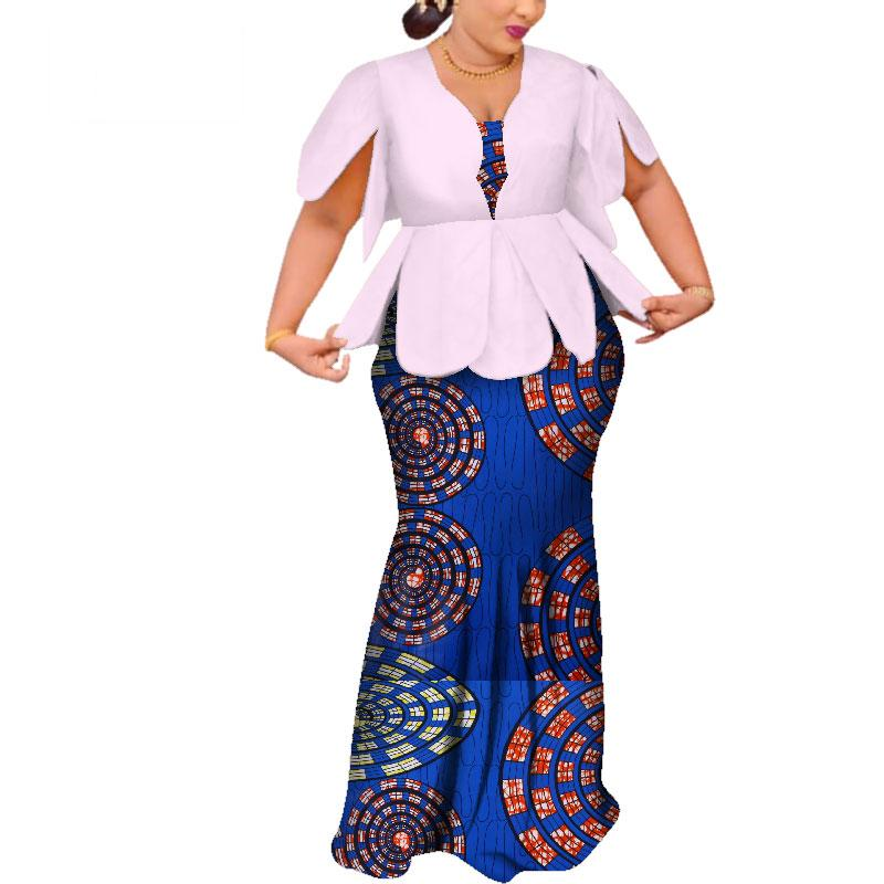 Африканские платья для женщин Dashiki Африканские платья с коротким рукавом красочные свадебные плюс размер африканской одежды BRW WY3797