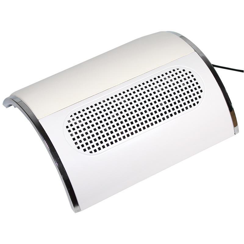 110 В / 220 В ногтей всасывания пылесборник большой размер сильный ногтей пылесос машина низкий шум с 2 сумки салон инструмент