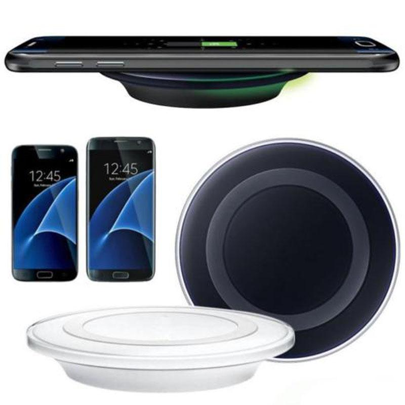 Caricatore wireless universale Qi di alta qualità per Samsung Note8 Galaxy s7 Edge s8 plus note8 iphone 8 X pad mobile