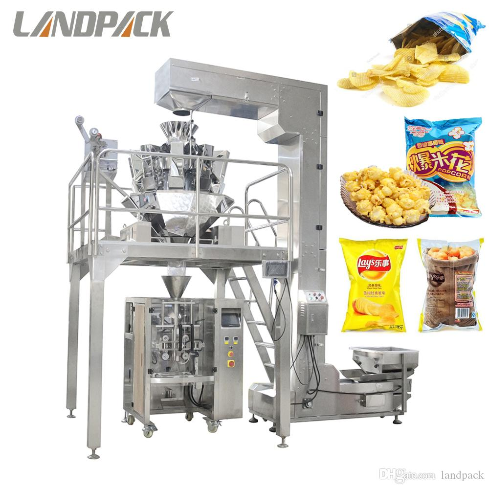 Multihead Weigher Automatic Plantain Chips Food Packing Machine
