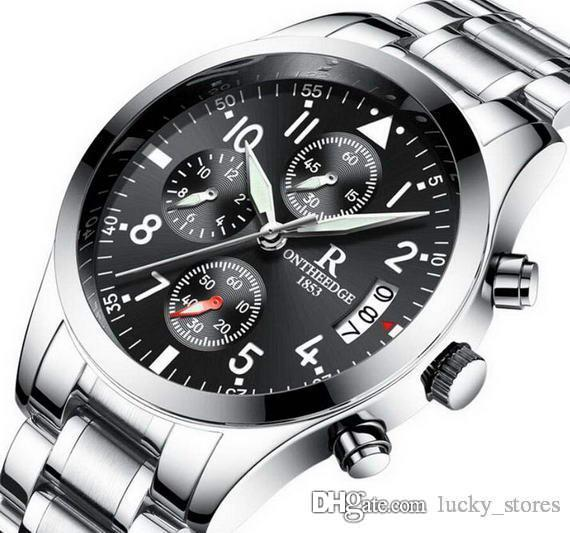 Designer 41mm homens relógios datejust aço quartzo 1 negócio relógio marca brilho no escuro mens colegas relógio relógio de pulso