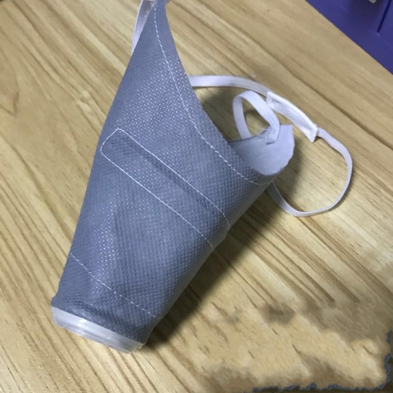 Köpek Ağız Vana Katlama Yüz Maskeler Anti Toz Mascherine Açık Maskesi Yavru Tedarik 8al2 H1 Nefes Maske