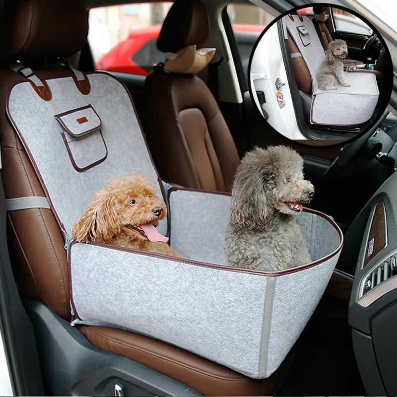 Outdoor Travel Pet Dog Seat Cover Retro Cozy Carrier for Small Dogs Cats Chihuahua French Bulldog Basket Pets Accessories