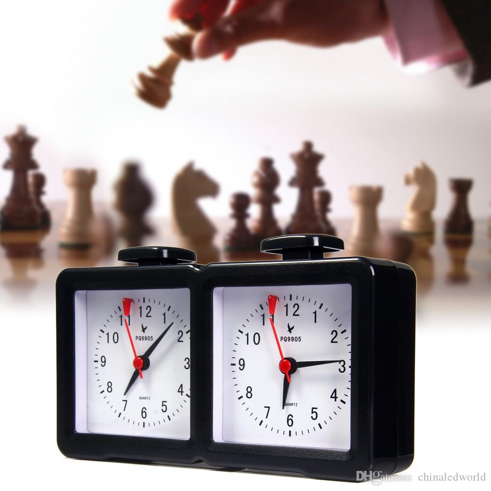 LEAP PQ9905 Quarz Analog Chess Clock I-go Count Up Down Timer for Game Competition