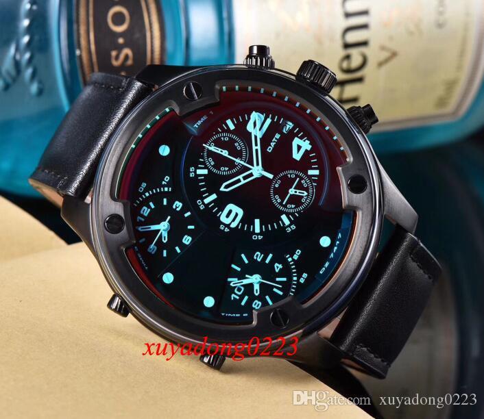 Dial Nova Boltdown Cronógrafo Quartz Black Watch Femininos 7415 7416 7417 7418
