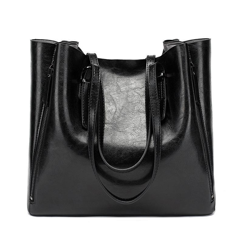 bolso de hombro de la manera del bolso del bolso multifuncional mujeres de las nuevas mujeres de la mujer de la cremallera grandes