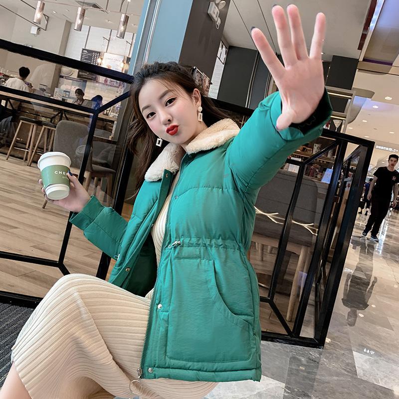 breve tratto di spessore versione coreana delle donne del cotone delle nuove donne di offerta speciale inverno del sciolto giacca di cotone servizio di pane studente V191019