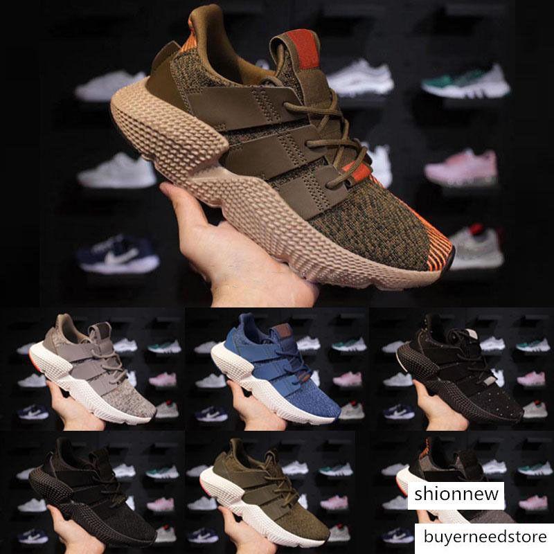 De haute qualité originaux Prophere Climacool EQT 4s Quatre générations Maladroit chaussure de sport Chaussures de course noir chaussures de sport Taille 40-45