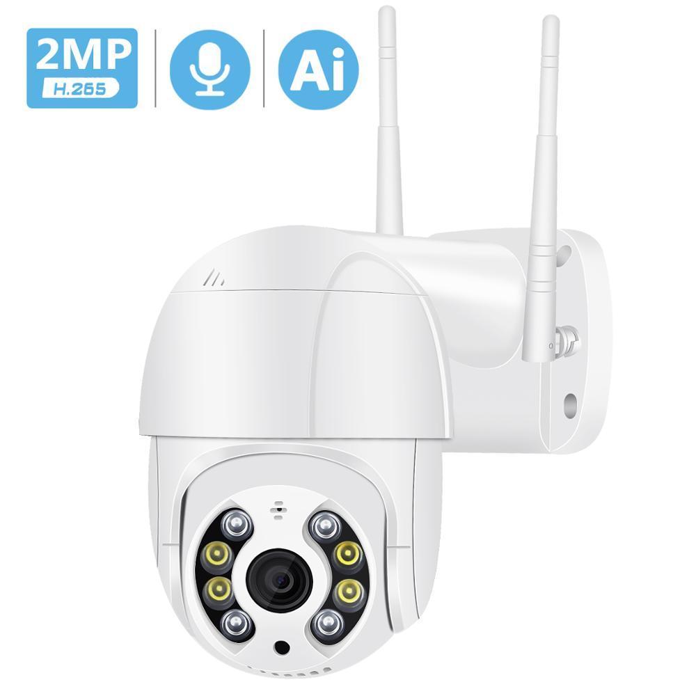 كاميرا 1080P PTZ IP لاسلكية للماء تقريب رقمي 4X سرعة قبة السوبر ميني واي فاي الأمن كاميرا CCTV الصوت AI كشف الإنسان اللاسلكية