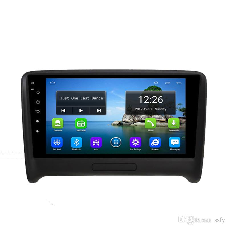 Android HD 1080P car MP3 MP4 Music Resolution HD display Resolution 1024 * 600 USB for AUDI TT 9inch