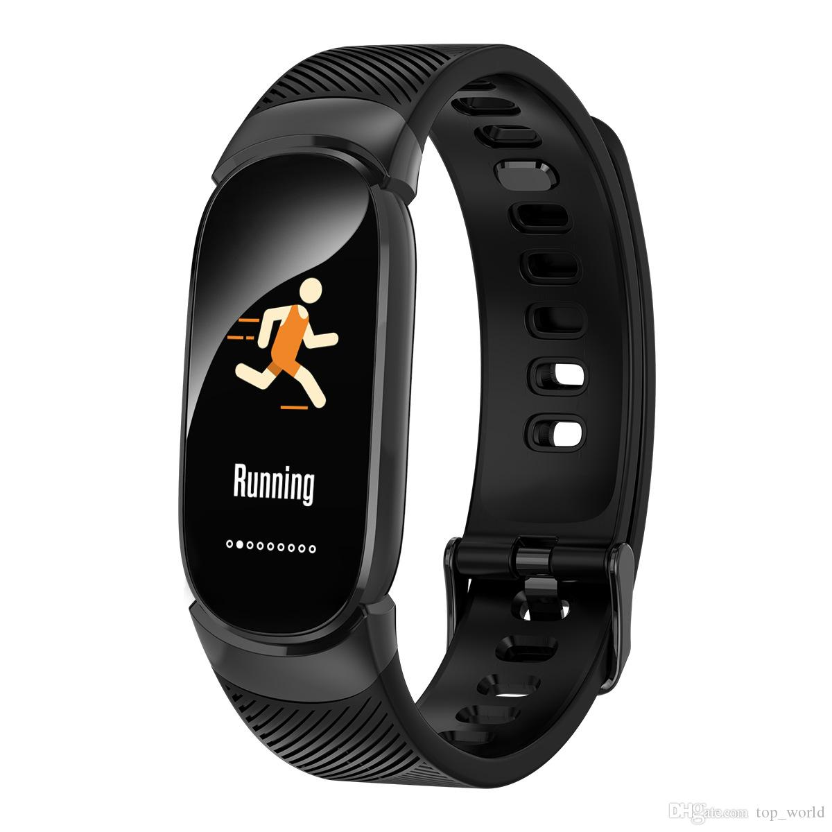 QW16 Smart-Armband Fitness Tracker Band 3 Herzfrequenzmesser Wasserdichte Pedometer Sport Uhr-Mode-Smart-Armband