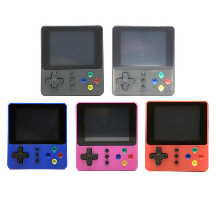 2020 New K5 Powkiddy Retro Video Game Console Portable Mini Handheld Pocketgo Games Box 500 in 1 Arcade FC SUP Games Player Children Toys