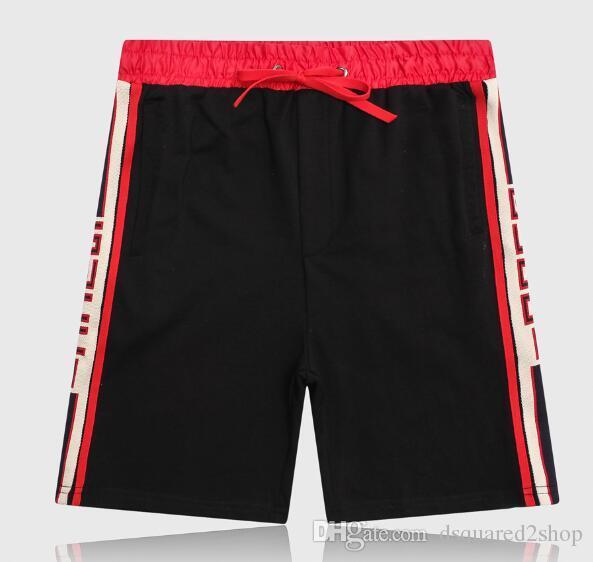 19s calções de praia de natação Board Shorts Men Summer Beach Shorts Calças de Alta Qualidade Swimwear Bermuda Carta Masculina Mens Shorts de algodão puro esporte