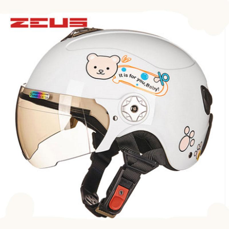 ZEUS New Free Shipping kids motorcycle helmet Children bike helmet ABS Protective Gear AS-108ME