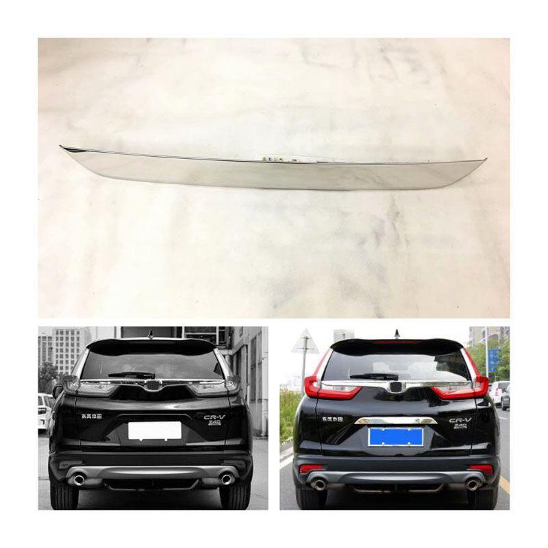 Coffre arrière Loquet Essoucheuse Garniture inoxydable Couvercle pour Honda CR-V CRV2017 ~ 2018