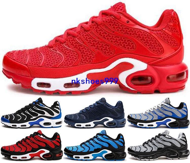 настроенный на воздушной подушке Макс обувь плюс Т.Н. Кроссовки EUR 46 кроссовки мужчин размер нас 12 Идущие Mens младший Золотой Классический Спортивный Спорт Дети Runners
