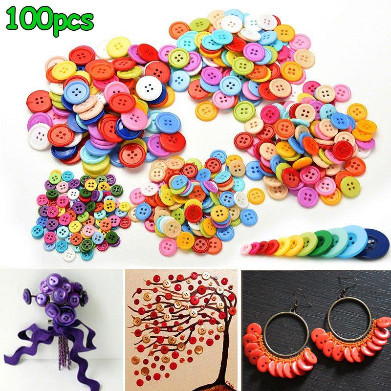SCRAPBOOKING CRAFT ETC., 50 x SWIRL 2 HOLE RESIN 13mm SEWING BUTTONS