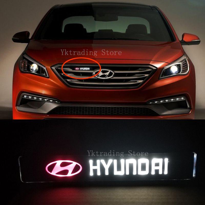 Hyundai DRL corrente di giorno della luce della lampada Hood griglia della griglia del cofano ha condotto la luce per Hyundai Avante IX25 IX35 Elantra Sonata Tuscon