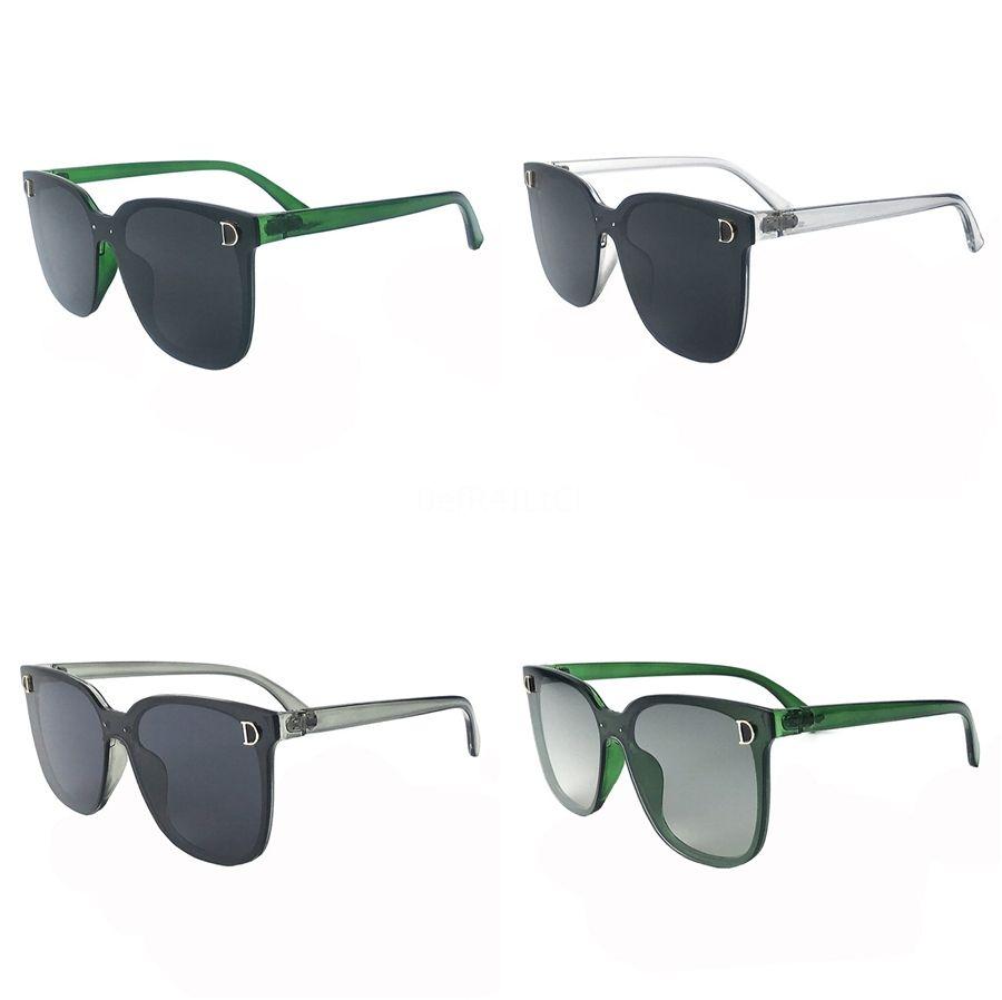 Rhinestone de gran tamaño espejo gafas de sol de las mujeres de lujo Gran máscara de imagen Protección de los ojos Gafas de plata diamante Shade UV400 Y200415 # 441