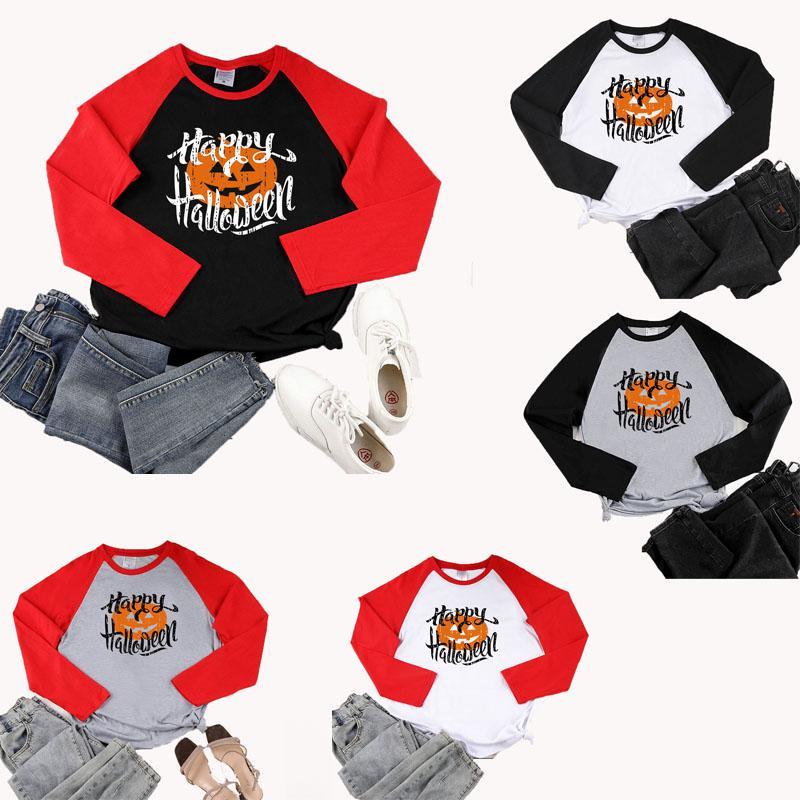 Festavil ropa de Halloween Moda calabaza camiseta ropa de mujer sudaderas con capucha Casual Tops