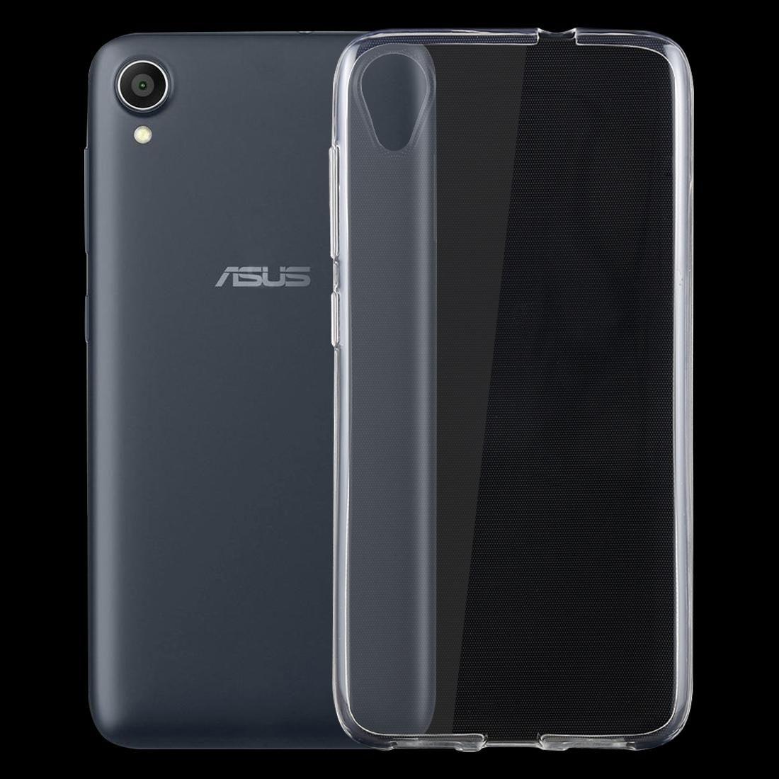 Caso Voltar à prova de choque TPU de protecção para Asus Zenfone vivo ZA550KL