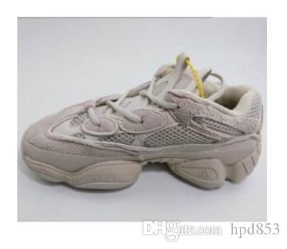 Nouveau Kanye West 500 Desert Rat Blush 500s Sel Super Moon Jaune Utilitaire Noir Hommes Chaussures de course pour hommes Femmes Baskets F89