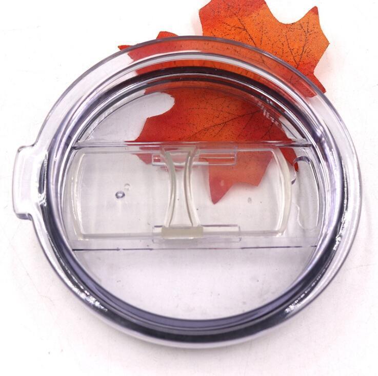 Copos plásticos transparentes tampa deslizante Cover Switch Copos Tampa para 20 30 oz Cars canecas de cerveja respingo LXL1183 Proof