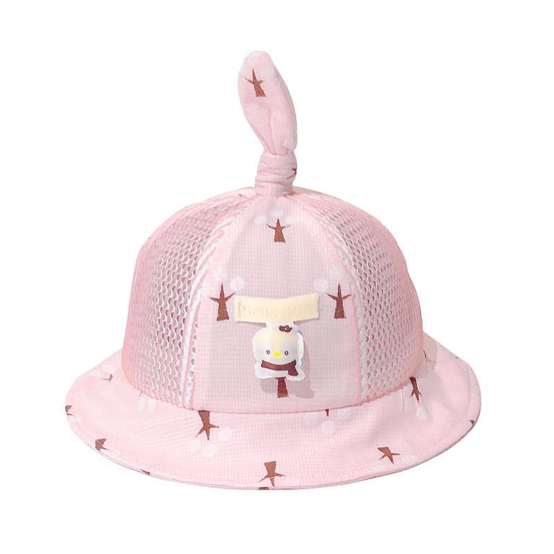 Cotton penguin Breathable Bucket Hat Fisherman Hat outdoor travel hat Sun Cap Hats for Children boys and girls 23