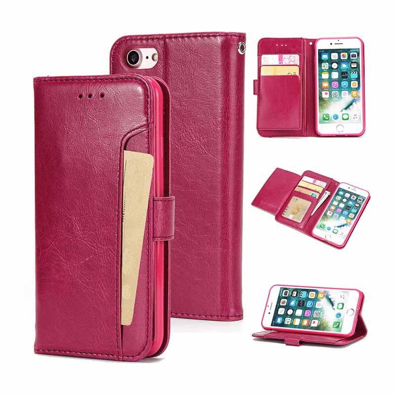 Талреп Кошелька телефон чехол для iPhone 8 7 Роскошный кожаный PU Магнитная TPU крышка для iPhone 11 Pro XR XS макс X