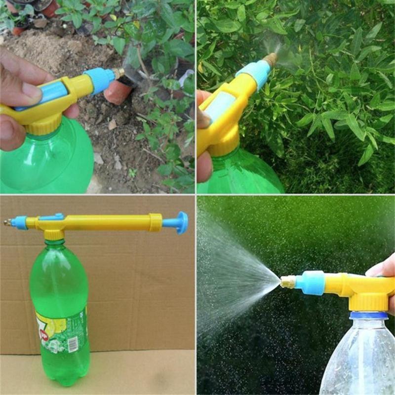 Nouveau Manuel Fleur Irrigation Spray Bouteille D'eau En Plastique Multicolor Pulvérisateurs Accueil Plantes Pulvérisateurs D'eau Fournitures De Jardin