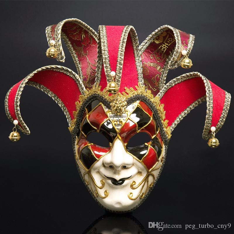 Designer Mask Holiday Party Christmas Make Up Mask Outdoor Dance Full Face Anti-Ancient Mask Free Shipping