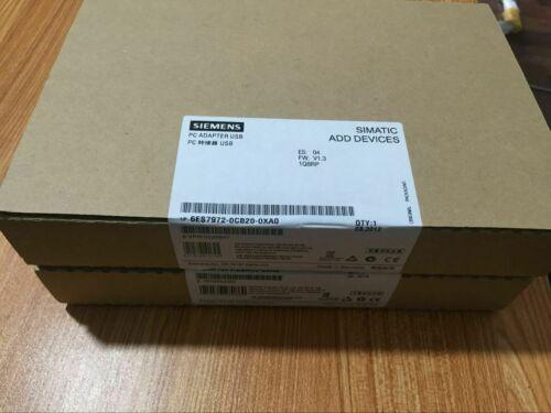 6ES7972-0CB20-0XA0 SIEMENS PC ADAPTER USB .PLC ПРОГРАММА CABLE .new. КОЛ = 1PCS
