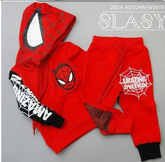 roupas lojas de fábrica das crianças atacado aranha traje traje Homem Aranha terno Spiderman Conjuntos infantis de f1
