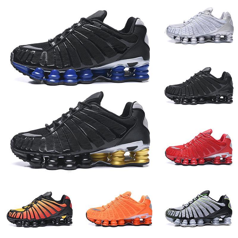2020   shox hommes TL chaussures de course triple noir Bred Sunrise blanc Lime argent métallique vitesse en rouge entraîneur des hommes de chaussures de sport de sport de mode