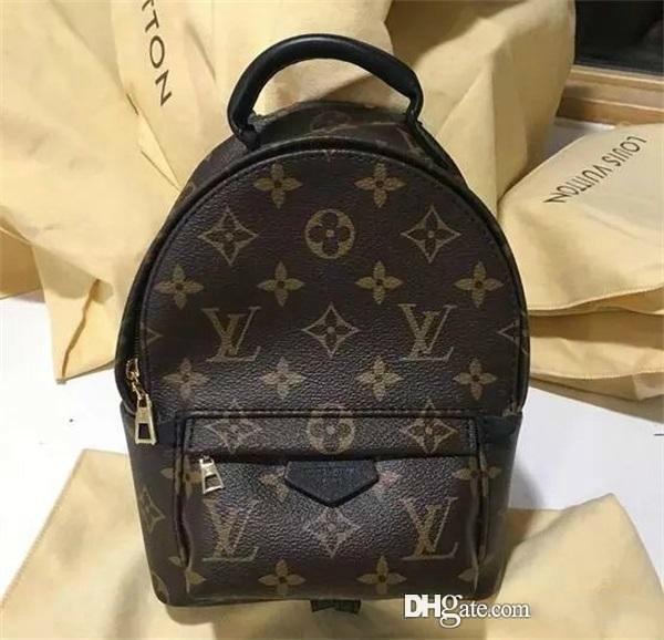 Новая мода сумка высокое качество бесплатная доставка женщин Палм-Спрингс рюкзак мини кожаный рюкзак сумка для пыли