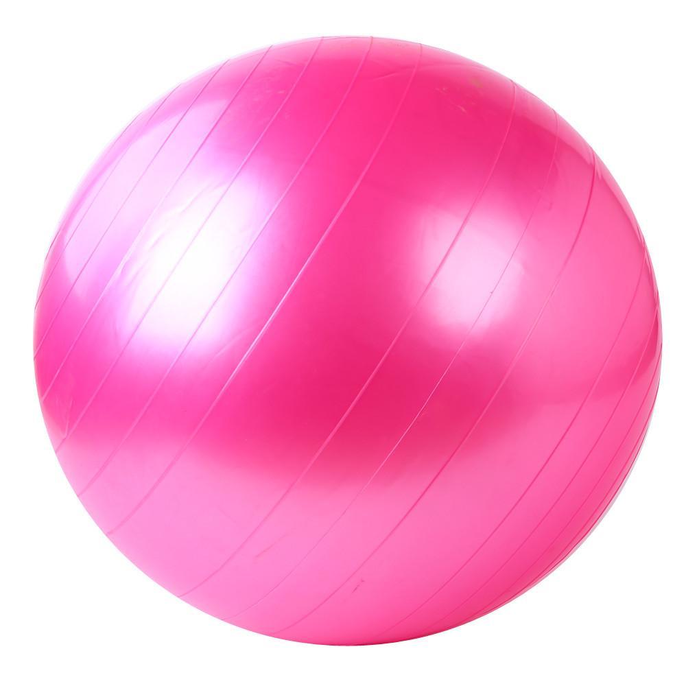Masaj Ball'un 55cm Egzersiz Fitnes GYM Jimnastik Yoga Topu Jimnastik In Egzersiz Topları Kapalı Eğitimi Yoga Toplar Sport Smooth