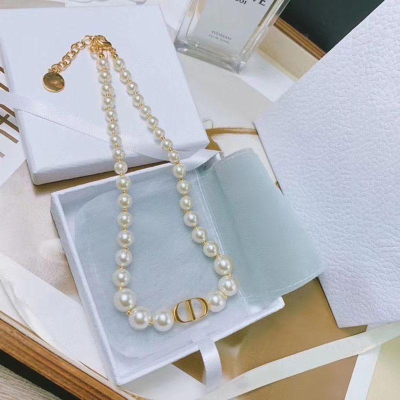 Ins de Moda de Nova Pearl White encanto Ouro Gargantilha Colar Mulheres