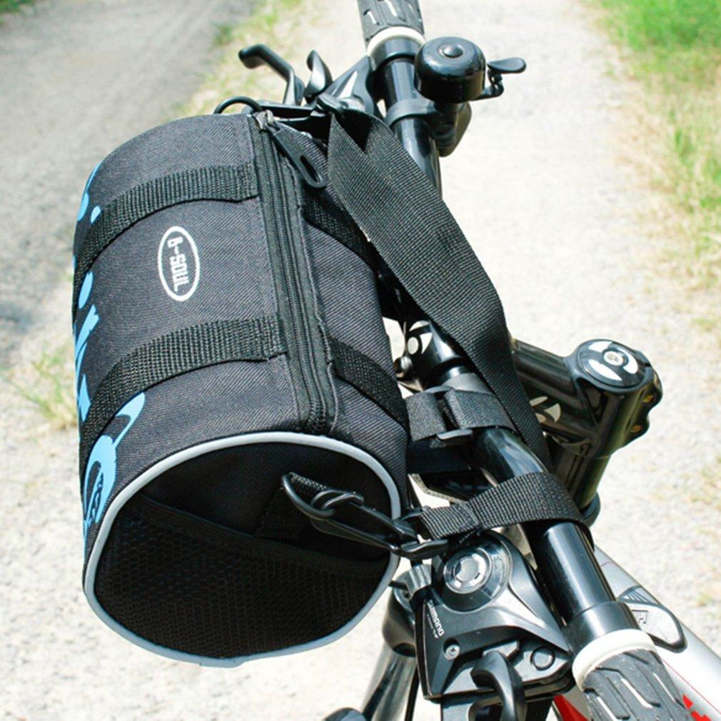 MTB Bike Bar Bag Pouch Front Rear Bag Multi-purpose Oxford Cloth Cycling Bike Handlebar Bags Single Shoulder Bag