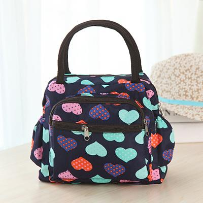 5pcs Neoprene Portable Lunch Bag Carry Case Tote Zipper Box Cooler Container Bags Picnic Outdoor Travel Fashionable Handbag Pouch for Women