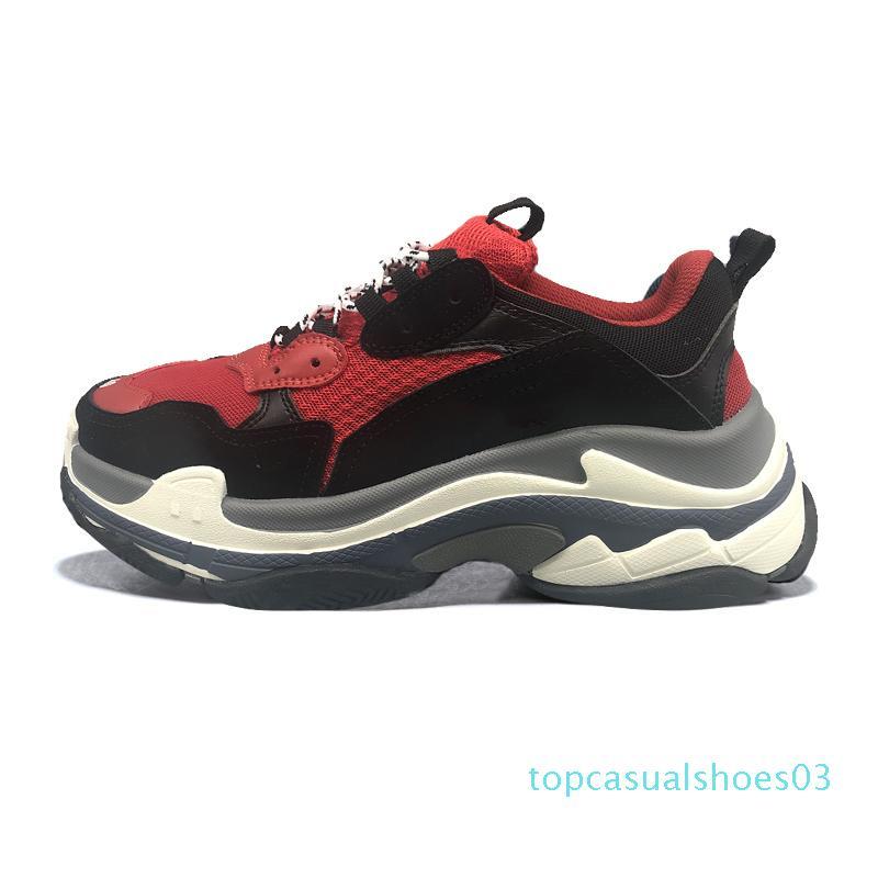 triple hommes femmes mode luxe chaussures de créateurs baskets cloutées noir blanc gris chaussure élevés entraîneur sport occasionnels hommes vintage violet t03