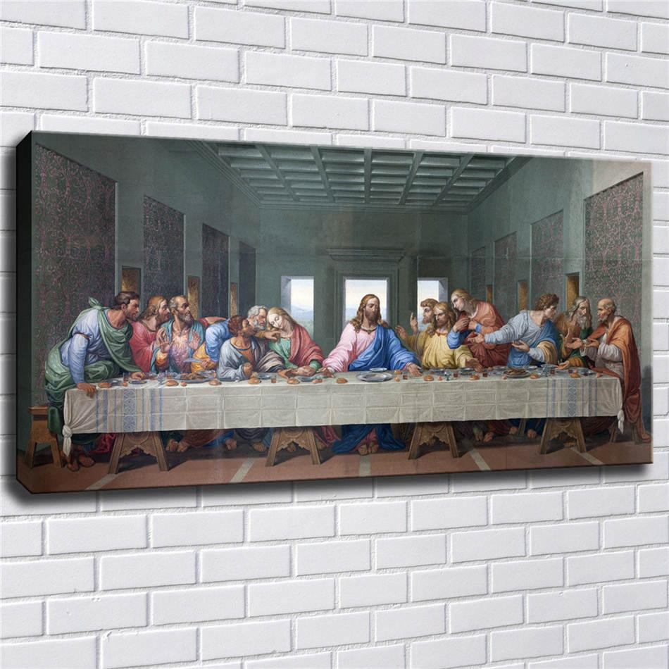 The Last Supper Leonardo Da Vinci,HD Canvas Printing New Home Decoration Art Painting/(Unframed/Framed)