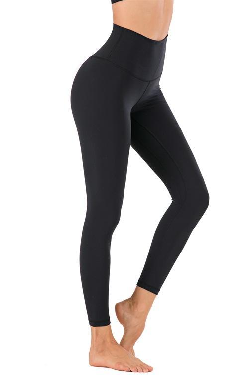 yoga pants canada leggings women yoga pants high waist long pants sports gym wear leggings Elastic Fitness Lady yogaworld